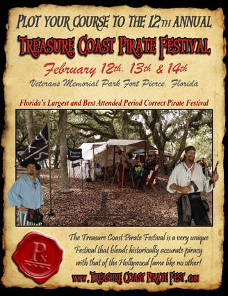 The Largest and best attended Pirate Festival on the East Coast is now located along the waterfront in Fort Pierce Florida